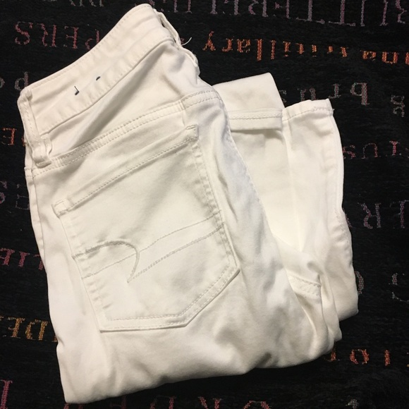 American Eagle Outfitters Denim - White Jeggings